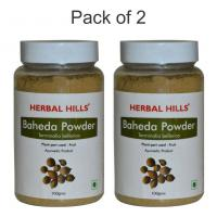 Herbal Hills Baheda Powder - 100 gms - Pack of 2
